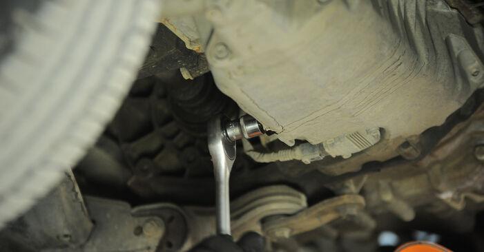 Ölfilter VW Sharan 1 1.8 T 20V 1997 wechseln: Kostenlose Reparaturhandbücher