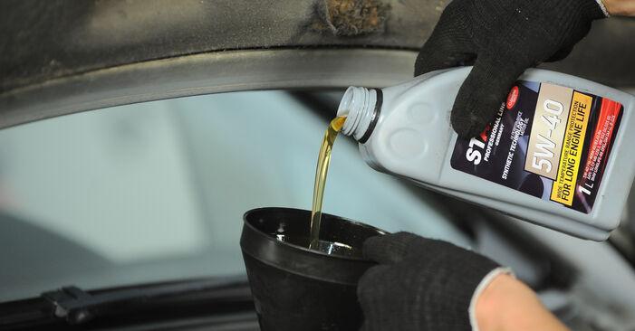 Ölfilter am VW SHARAN (7M8, 7M9, 7M6) 2.8 V6 24V 4motion 2000 wechseln – Laden Sie sich PDF-Handbücher und Videoanleitungen herunter