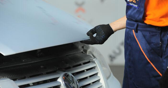 Tausch Tutorial Ölfilter am VW SHARAN (7M8, 7M9, 7M6) 2007 wechselt - Tipps und Tricks