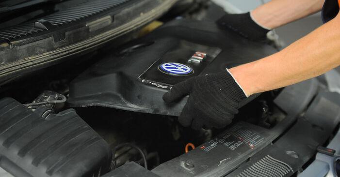 Wechseln Ölfilter am VW SHARAN (7M8, 7M9, 7M6) 1.9 TDI 4motion 1998 selber