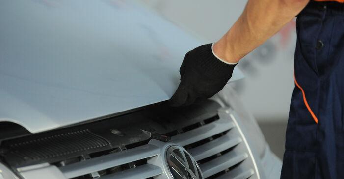 Trin-for-trin anbefalinger for gør-det-selv udskiftning på VW Sharan 1 2008 2.0 Brændstoffilter