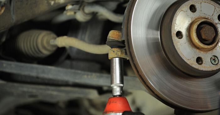 Spurstangenkopf beim VW SHARAN 1.9 TDI 2002 selber erneuern - DIY-Manual