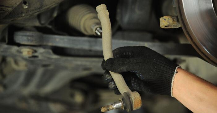 VW SHARAN 1.8 T 20V Spurstangenkopf ausbauen: Anweisungen und Video-Tutorials online