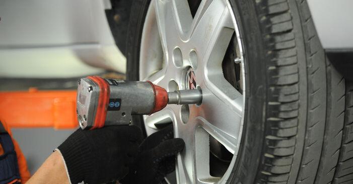 Wie VW SHARAN 2.0 1999 Spurstangenkopf ausbauen - Einfach zu verstehende Anleitungen online