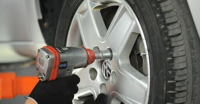 Spurstangenkopf VW Sharan 1 1.8 T 20V 1997 wechseln: Kostenlose Reparaturhandbücher
