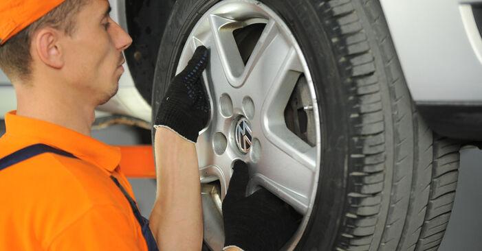 Udskiftning af Styrekugle på VW SHARAN (7M8, 7M9, 7M6) 1.9 TDI 4motion 1998 ved gør-det-selv