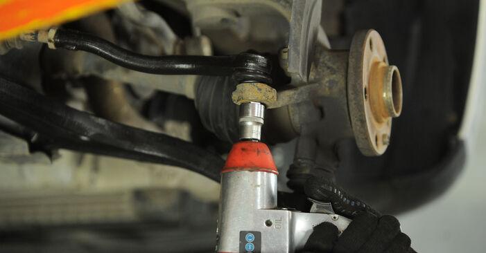 Trin-for-trin anbefalinger for gør-det-selv udskiftning på VW Sharan 1 2008 2.0 Hjulleje