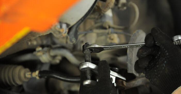 Gør-det-selv udskiftning VW SHARAN (7M8, 7M9, 7M6) 1.8 T 20V 2009 Hjulleje - online læringslektioner