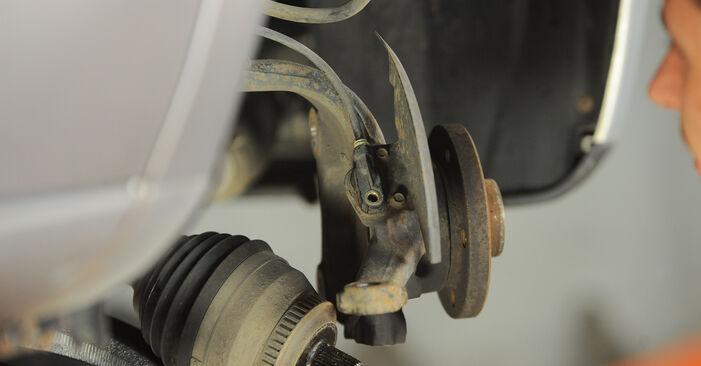 Hvordan man udskifter Hjulleje på VW Sharan 1 1995 - gratis PDF og video manualer