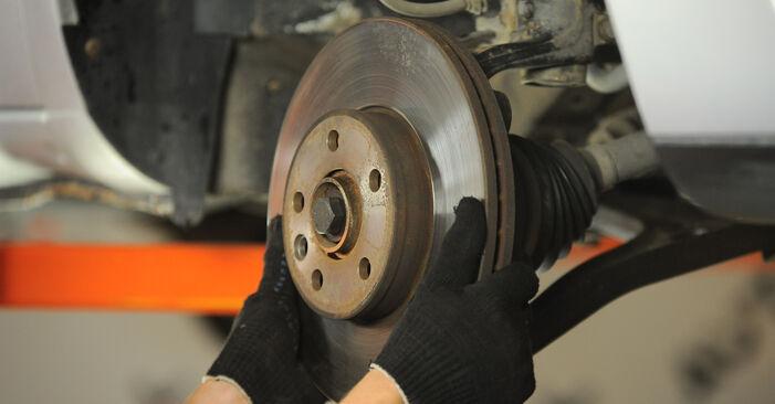 Hvor lang tid tager en udskiftning: Hjulleje på VW Sharan 1 2003 - informativ PDF-manual