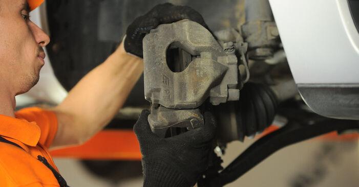 SHARAN (7M8, 7M9, 7M6) 2.0 2006 Hjulleje gør-det-selv udskiftnings værksted manual