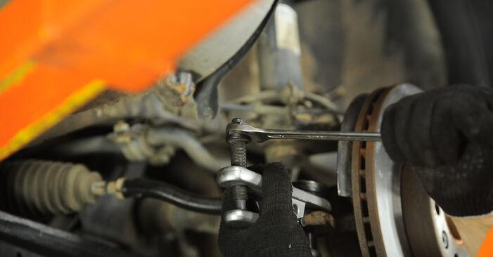 Udskiftning af Fjeder på VW Sharan 1 2005 1.9 TDI ved gør-det-selv indsats