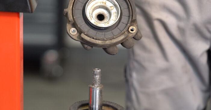 Trin-for-trin anbefalinger for gør-det-selv udskiftning på VW Sharan 1 2008 2.0 Fjeder