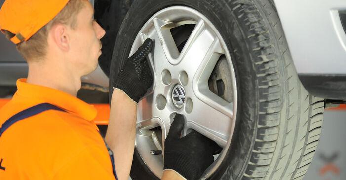 Udskiftning af Fjeder på VW SHARAN (7M8, 7M9, 7M6) 1.9 TDI 4motion 1998 ved gør-det-selv
