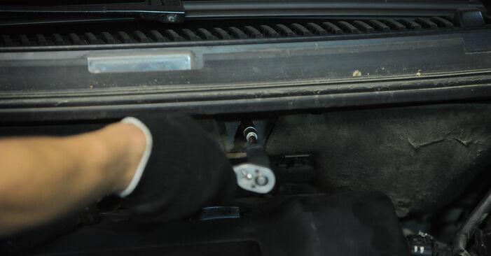 VW SHARAN 2002 Fjeder trin-for-trin udskiftnings manual