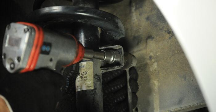 Hvordan man fjerner VW SHARAN 2.0 1999 Fjeder - nem at følge online instruktioner