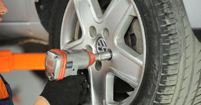 Hvordan man skifter Fjeder på VW SHARAN (7M8, 7M9, 7M6) 2007 - råd og tricks