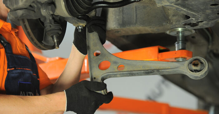 Changing of Control Arm on VW Sharan 1 2003 won't be an issue if you follow this illustrated step-by-step guide