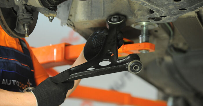 Replacing Control Arm on VW Sharan 1 2005 1.9 TDI by yourself
