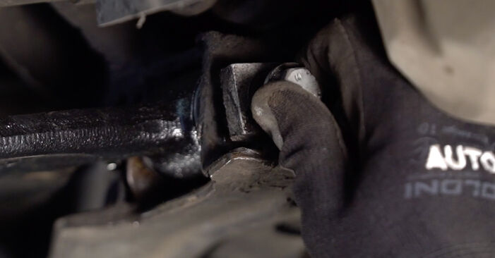 Step-by-step recommendations for DIY replacement VW Sharan 1 2008 2.0 Control Arm