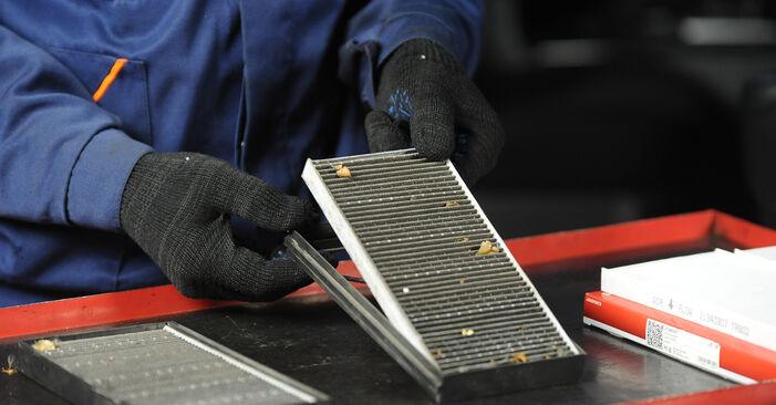 Innenraumfilter am KIA SORENTO I (JC) 2.5 CRDi 2007 wechseln – Laden Sie sich PDF-Handbücher und Videoanleitungen herunter