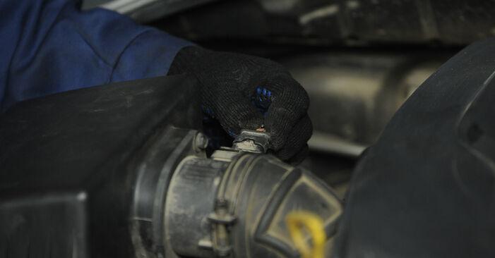 Tee se itse -vaihto: KIA SORENTO I (JC) 3.5 V6 2016 -auton Ilmansuodatin - online-opas