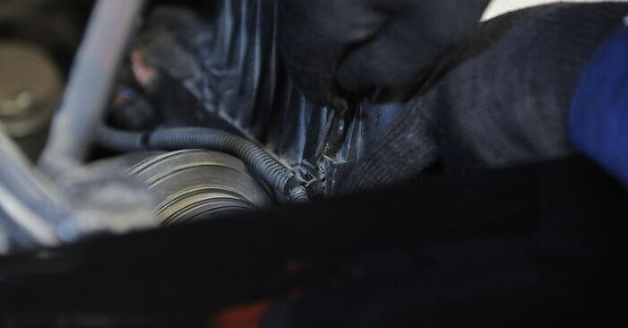 Kuinka poistaa KIA SORENTO 3.5 2006 -auton Ilmansuodatin - helposti seurattavat online-ohjeet