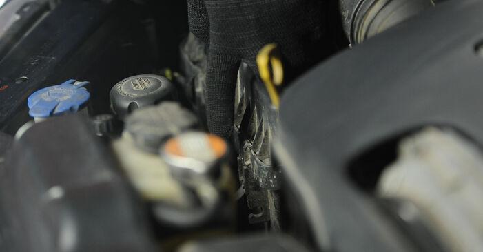 Kuinka vaikeaa on tehdä itse: Ilmansuodatin-osien vaihto KIA Sorento jc 2.4 2008 -autoon - lataa kuvitettu opas