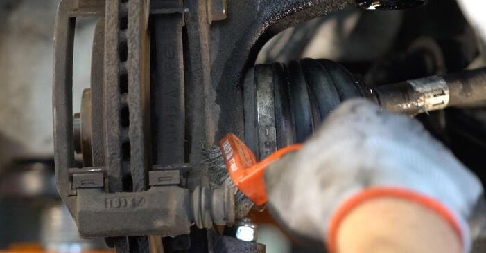 KIA SORENTO 3.3 V6 Bremsbeläge ersetzen: Tutorials und Video-Wegleitungen online