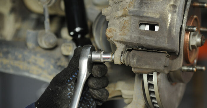 How to change Brake Pads on KIA Sorento jc 2002 - free PDF and video manuals