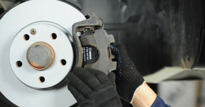 DIY replacement of Brake Pads on MERCEDES-BENZ A-Class (W169) A 170 1.7 (169.032, 169.332) 2009 is not an issue anymore with our step-by-step tutorial