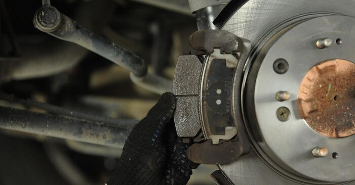 Bremsbeläge Ihres KIA Sorento jc 3.3 V6 2010 selbst Wechsel - Gratis Tutorial