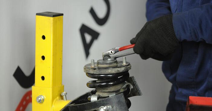 KIA Sorento jc 2.4 2004 Federn wechseln: Kostenfreie Reparaturwegleitungen
