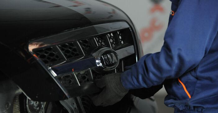 Hinweise des Automechanikers zum Wechseln von KIA SORENTO I (JC) 3.5 V6 2016 Federn