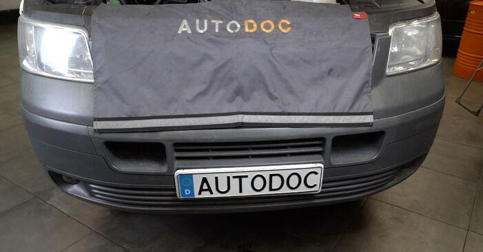Wie schwer ist es, selbst zu reparieren: Ölfilter VW T5 Kasten 1.9 TDI 2009 Tausch - Downloaden Sie sich illustrierte Anleitungen