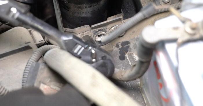 Schimbare Filtru combustibil la VW T5 Van 2013 2.5 TDI de unul singur