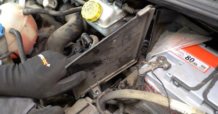 Cum să demontați VW TRANSPORTER 2.5 TDI 2007 Filtru combustibil - instrucțiunile online ușoare de urmărit
