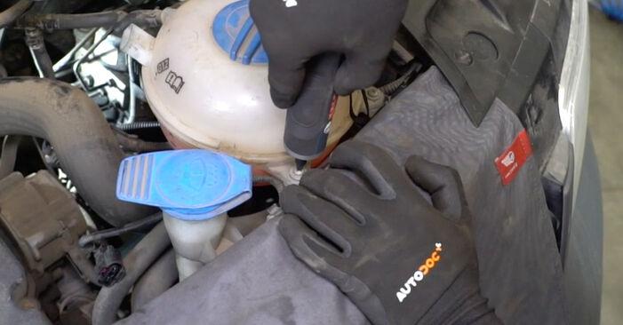 Schimbați Filtru combustibil la VW Transporter V Van (7HA, 7HH, 7EA, 7EH) 2.0 TDI 2006 de unul singur