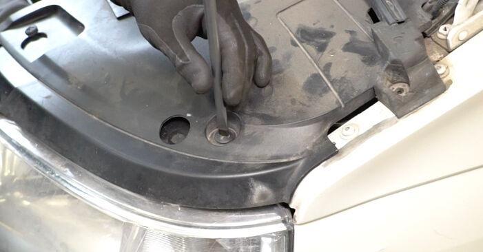 Manualul de înlocuire pas cu pas VW TRANSPORTER 2010 Filtru combustibil