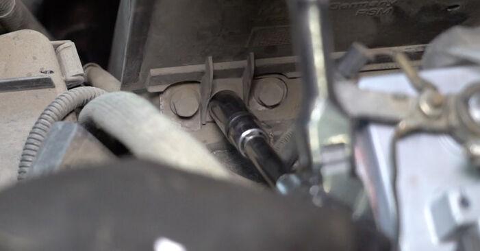 Cât durează înlocuirea: Filtru combustibil la VW T5 Van 2011 - manualul informativ în format PDF