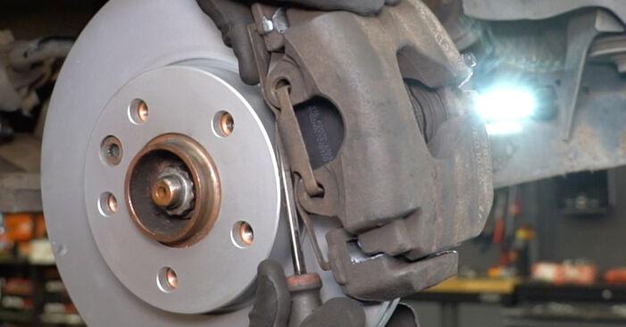 Transporter V Van (7HA, 7HH, 7EA, 7EH) 2.5 TDI 2014 Brake Calipers DIY replacement workshop manual