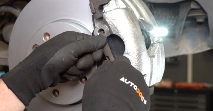 Changing of Brake Calipers on VW T5 Van 2011 won't be an issue if you follow this illustrated step-by-step guide