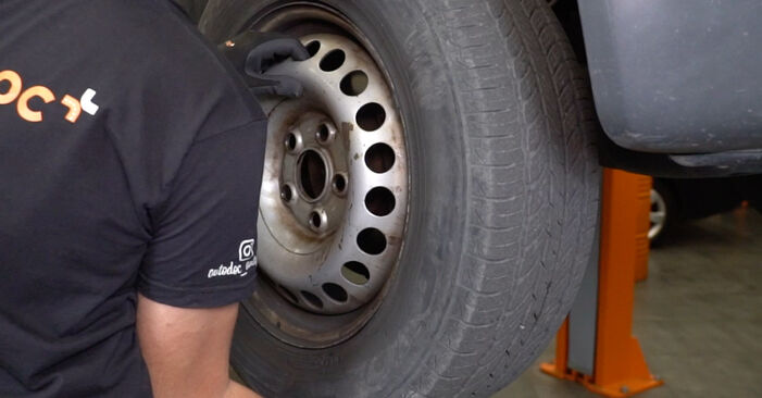 How to remove VW TRANSPORTER 2.5 TDI 2007 Brake Calipers - online easy-to-follow instructions