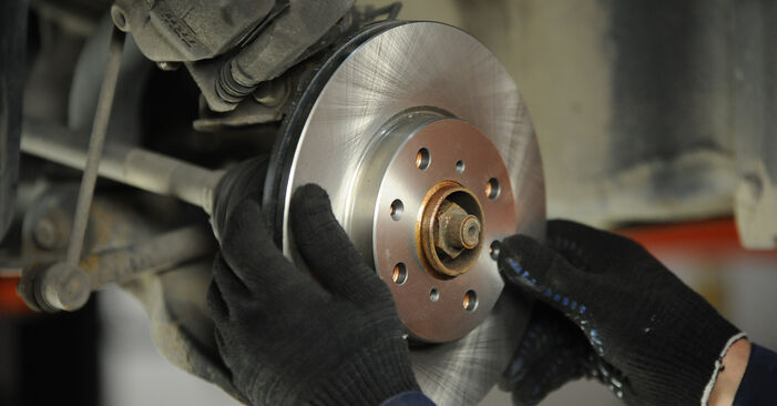 How to replace SUZUKI SWIFT III (MZ, EZ) 1.3 (RS 413) 2006 Brake Discs - step-by-step manuals and video guides