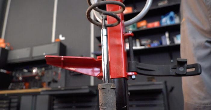Stoßdämpfer Ihres SUZUKI SWIFT III (MZ, EZ) 1.3 (RS 413) 2013 selbst Wechsel - Gratis Tutorial