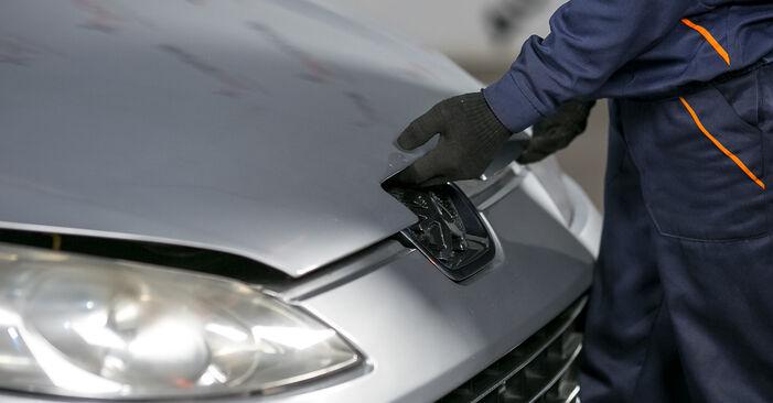 Wie Bremsbeläge Peugeot 407 Limousine 2.0 HDi 135 2004 tauschen - Kostenlose PDF- und Videoanleitungen
