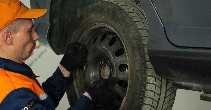Bremsbeläge Peugeot 407 Limousine 2.0 2006 wechseln: Kostenlose Reparaturhandbücher