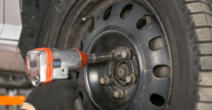 Wechseln Bremsbeläge am PEUGEOT 407 (6D_) 1.8 2007 selber