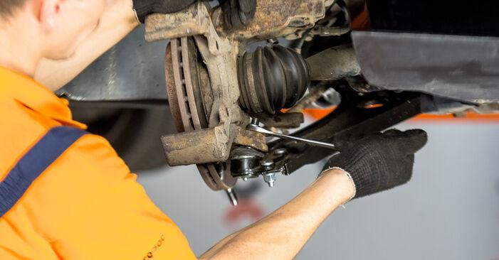 How to replace Strut Mount on VW Golf V Hatchback (1K1) 2004: download PDF manuals and video instructions