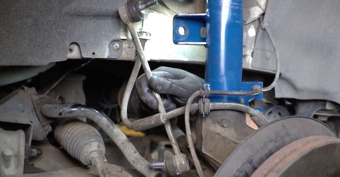 Wie lange braucht der Teilewechsel: Koppelstange am VW T5 Kasten 2011 - Einlässliche PDF-Wegleitung